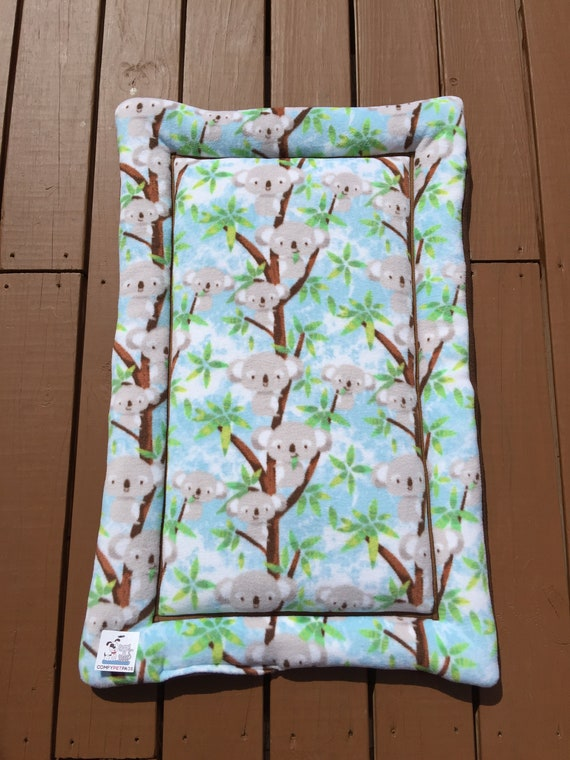 Koala Bears Pet Bed, Dog Crate Bedding, Cat Couch Cover,  Medium Carrier Pad, Puppy Bedding, Kennel Mat, Comfy Pet Bed, Fits 24x36 Crate