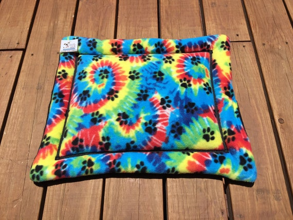 Dog Crate Pad, Small Cat Mat, Pet Pride, Stroller Pet Bed, Cat Carrier, Cat  Chair Pad, Rainbow Paw Prints, LGBT, GLBT, Pet Pride, XS