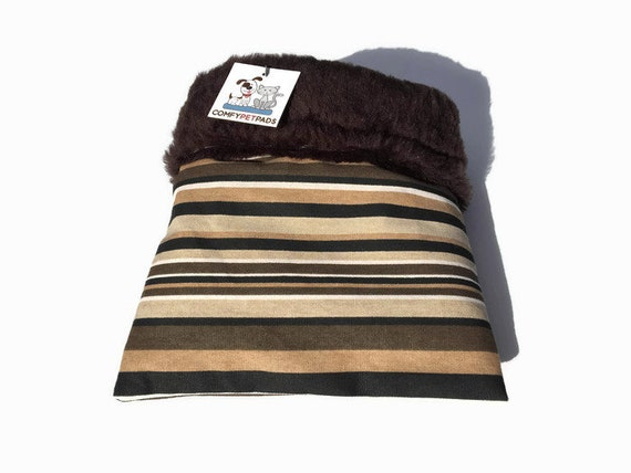 Snuggle Sack for Hedgehogs with Faux Fur, Bearded Dragons or Guinea Pigs, 3 layers, Washable, Size 9x9