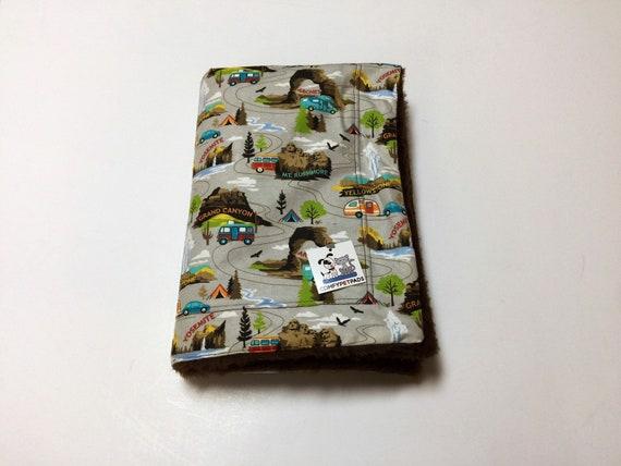 National Parks Blanket, Dog Blanket, Camping Gifts, Little Boy Gifts, US National Parks, Camping Birthday Party, Stroller Blanket