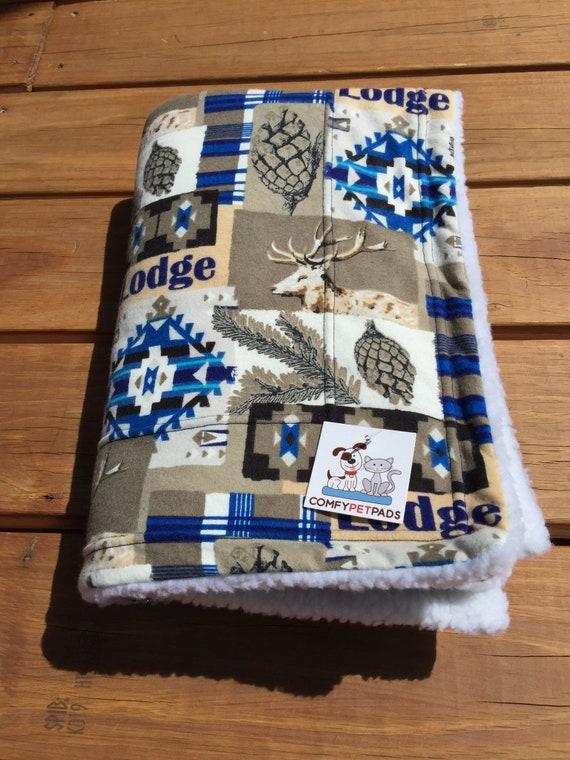Dog Blanket, Pet Blanket, Dog Crate Bedding, Lodge Decor, Gift for Outdoor Lover, Little Boy Gifts, Stroller Blanket