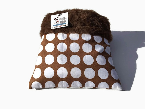 Snuggle Sack for Hedgehogs with Faux Fur, 3 layers, Size 9x9, Washable
