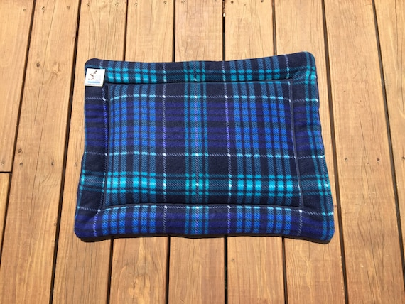 Blue Dog Bed, Pet Stroller Pad, Dog Training Mat, Small Cat Mat, Puppy Gifts, Couch Pad, Comfy Pet Bed, Crate Cover, Dog House Pads, 19x25