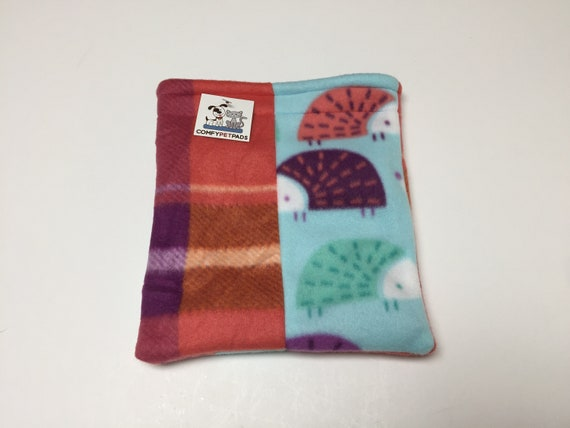 Hedgehog Snuggle Sack, for Guinea Pigs, Sugar Gliders, Rats, or other small critters, Washable