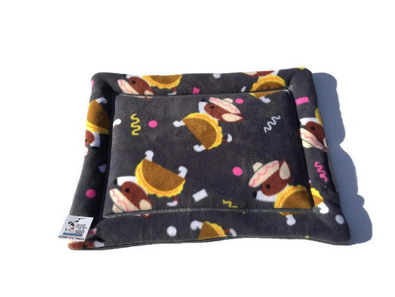 Chihuahua Bed, Taco Dog,  Small Crate Pad, Kennel Pad, Size 20x17