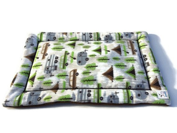 Camping Pet Pad, Travel Trailer Decor, Puppy Pad, Washable Dog Bed, Dog House Pads, Puppy Bedding, Crate Pad, Kennel Mat, Camping Gear