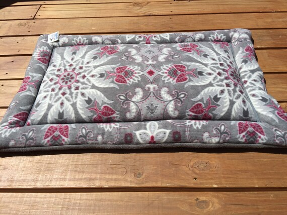 Large Crate Pad, Beds for Cats, Roll up Pet Bed, Pet Training Pad, Kennel Liner, Puppy Pad, Dog Crate Pad, Fits 24x36 Crate