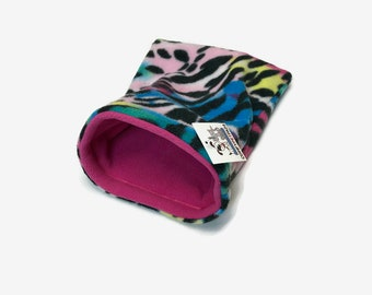 Hedgehog Snuggle Sack, Guinea Pig Pouch, Rat Bedding, Pocket Critter, or other small critters, Size 11x9, Washable