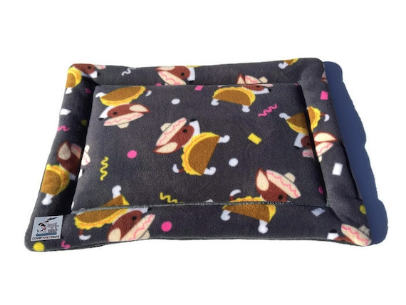Chihuahua Taco Dog Bed, Animal Bedding, Puppy Crate Pad, Crate Cover, Chair Cushion, Kennel Bed, Chihuahua Gift, Size 19x25