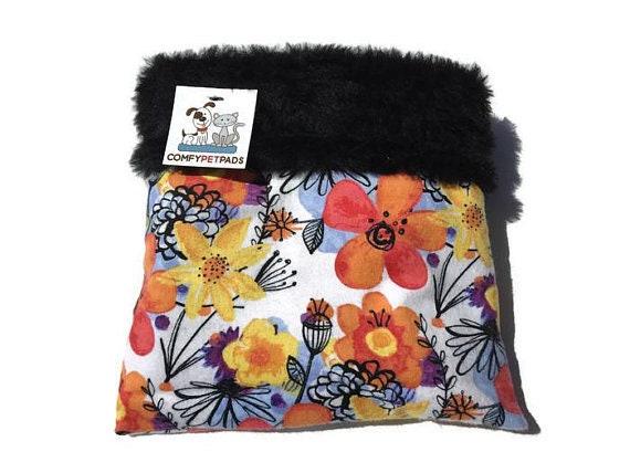 Flower Snuggle Sack, Hedgie Bag, Pocket Pet Bed, Pocket Pet, Small Animal Sleeping Bag, Bonding Carrier Bag, Cuddle Cup