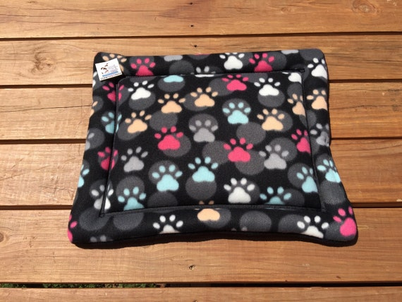 Paw Print Dog Bed, Stroller Pet Mat, XS