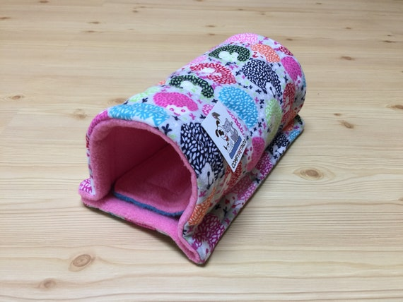 Tunnel for Guinea Pigs, Hedgehogs, Ferrets, Sugar Gliders and other small animals.  Size 11 Inches x 5 Inches.
