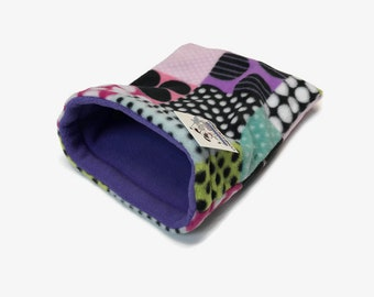 Snuggle Sack for Hedgehog, Guinea Pigs, Rats, or other small critters, Size 11x9, Washable