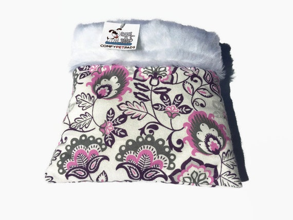 Flower Hedgehog Snuggle Sack, Small Animal Bedding, Size 9x9 and Easy to Clean