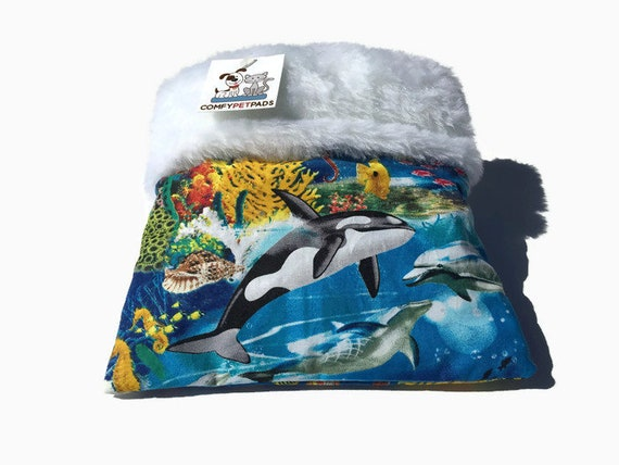 Killer Whale Snuggle Sack, Bonding Bag, Size 9x9, Easy to Clean