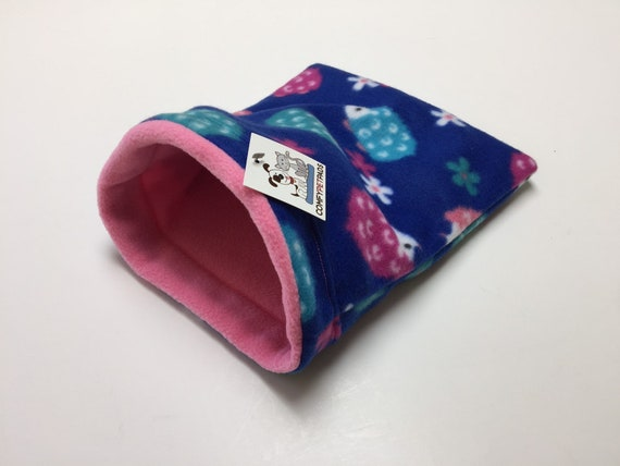 Snuggle Sack for Hedgehog, Guinea Pigs, Rats, or other small critters, Washable