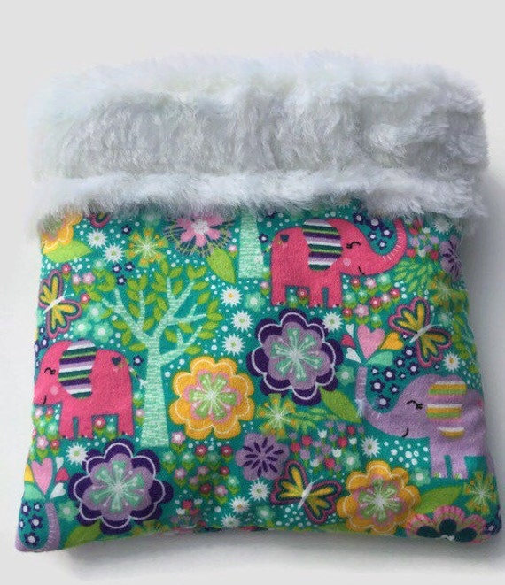 Small Snuggle Sack for Hedgehog, Guinea Pigs, Rats, or other small pets, 3 Layers