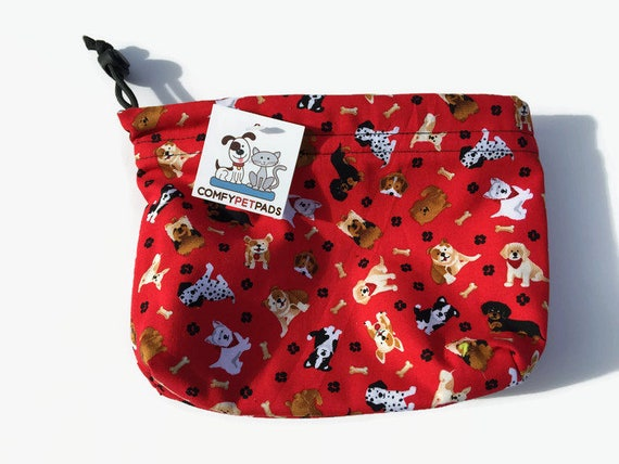 Accessory Bag, Leash Bag, Pet Accessories, Treat Bag, Drawstring Dog Pouch, Make Up Bag, Kids Toy Bag, Gymnastics Grip Bags, Craft Bags