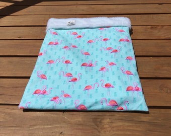Flamingo Burrow Bag, Sphynx Cat Bed, Snuggle Sacks, Doxie Bed Warmer, Cuddle Bag, Wiener Dog Bed, Pet Bed Warmer, Chihuahua Sack, MinPin Bed