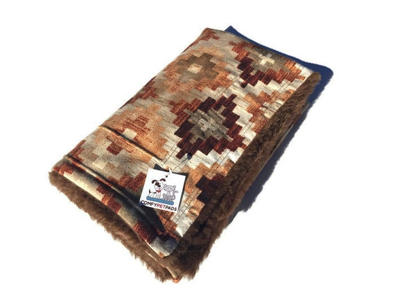 Southwestern Blanket, Stroller Cover, Crate Bedding, Size 39x29