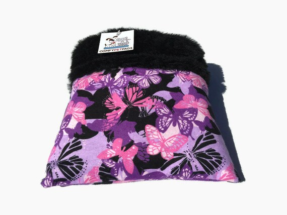 Small Animal Bedding, Bed for Hedgehogs, Cuddle Bag, Sugar Glider Pouch, Snuggle Sack, Cozy  Cave, Size 9x9, 3 layers