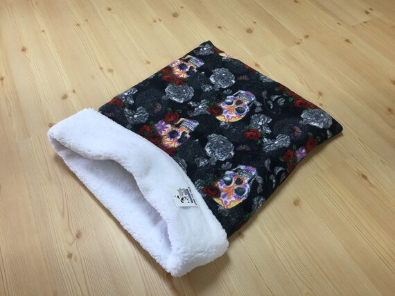 Dog Snuggle Sack, Cat Sleeping Bag, Dog Lover Gifts, Pet Burrow Bag, Sphynx Bedding, Washable, Size 28x20 uncuffed