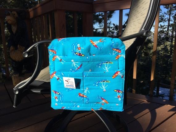 Walker Bag, Bunk Bed Organizer, Chair Caddy, Hospital Bed Rail, Nursing Home Gifts, 12x12