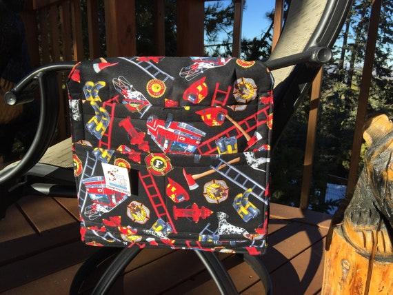 Walker Bag, Firetruck Birthday Gift, Hospital Bed Rail Caddy, Bunk Bed Organizer, Nursing Home Gifts