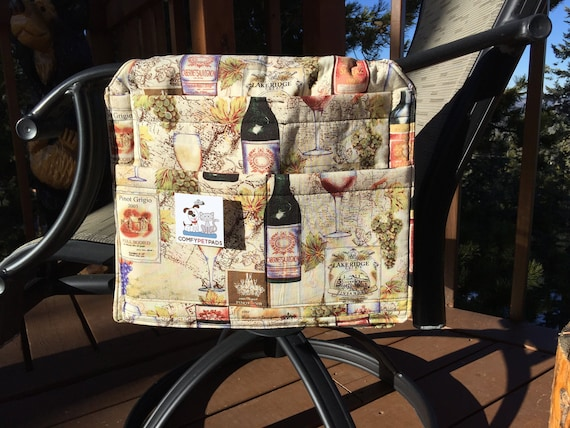 Walker Bag, Bed Rail Accessories, Chair Caddy, Hospital Bed Organizer, Outdoor Chairs, Nursing Home Gifts