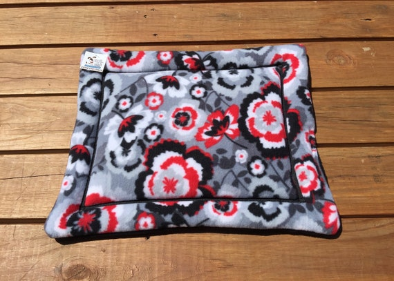 Small Cat Pad, Stroller Pet Bed, Dog Crate Bedding, Floral Pet Bedding, XS