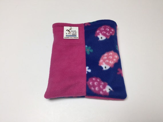 Hedgehog Snuggle Sack or other small critters, Washable
