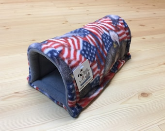 Guinea Pig Tunnel, Hedgehog Bedding, Cage Accessory.  Perfect for small critters. 12 Inch