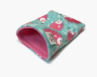 Hedgehog Snuggle Sack, Carrier Pouch, Cage Accessories, Washable