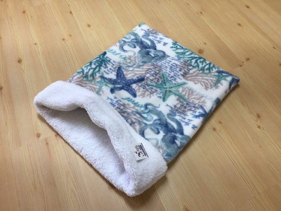 Snuggle Sack for Dogs, Pet Sleeping Bag, Cat Burrow Bag, Sphynx Bedding, Washable, Size 28x20 uncuffed