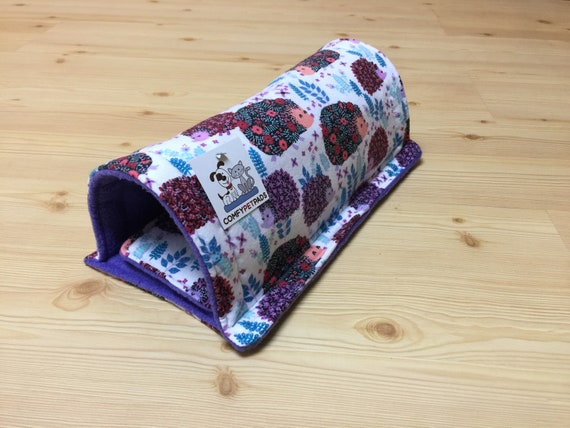 """Tunnel for Guinea Pigs, Hedgehogs, Ferrets, Sugar Gliders and other small animals.  Size 13"""" x 5"""""""
