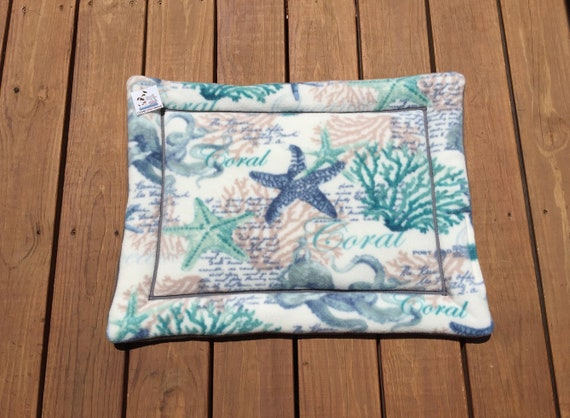 Crate Pads for Dogs with Star Fish, Cat Bed, Size 19x25