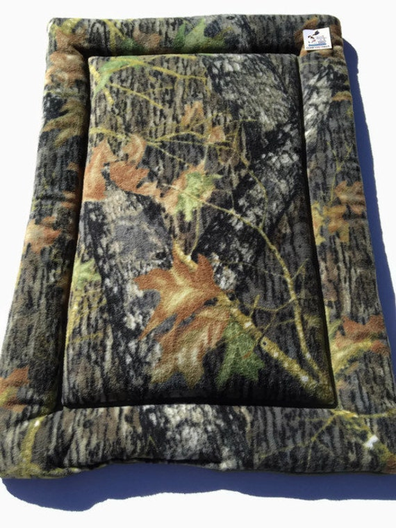 Dog Crate Pad, Mossy Oak Dog Bed, Fits 24x36 Kennels
