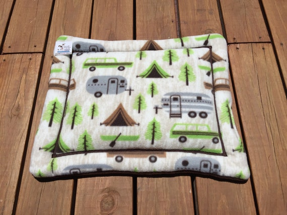 Small Crate Pad, Cat Chair Mat, Tiny Dog Bed, Stroller Pet Bed, Travel Trailer Decor, Cat Mat, Camping Gear for Pets, Crate Kennel Mat, XS