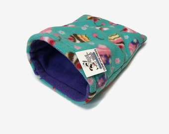 Hedgehog Snuggle Sack, Guinea Pig Pouch, Rats, or other small critters, Size 11x9, Washable