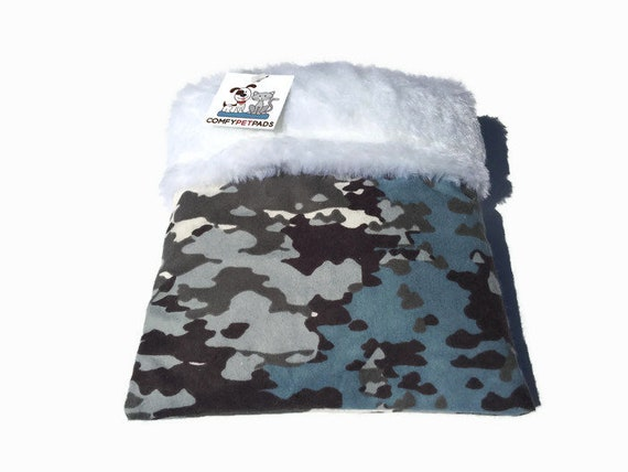 Camo Hedgehog Snuggle Sack, Cage Accessories, Rat Bedding, Carrier Pouch, Guinea Pig Bed, Sugar Glider Pouch, Hamster Bedding, Cuddle Bag