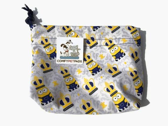 Make Up Bag, Kids Toy Bag, Small Drawstring Bag, Gymnastics Grip Bags, Knitting Bag, Leash Holder, Craft Bags, Goody Bags, Dog Treat Pouch
