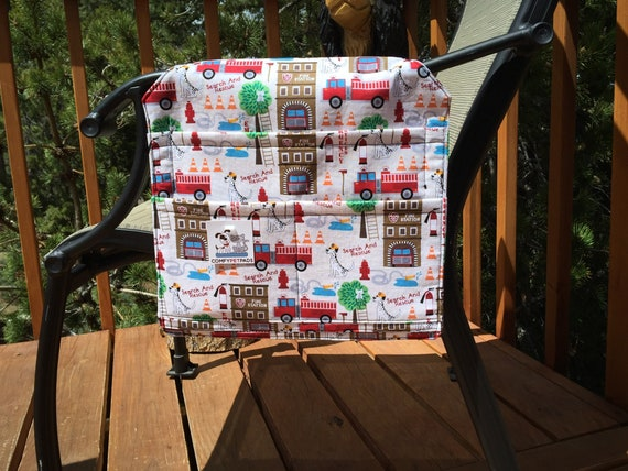 Firetruck Birthday Gift, Hospital Bed Rail Caddy, Bunk Bed Organizer, Nursing Home Gifts, Walker Bag