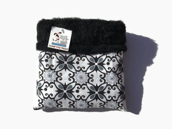 Black and White Snuggle Sack, Great for Hedgehogs, Skinny Guineas, Sugar Gliders, Snakes and Rats