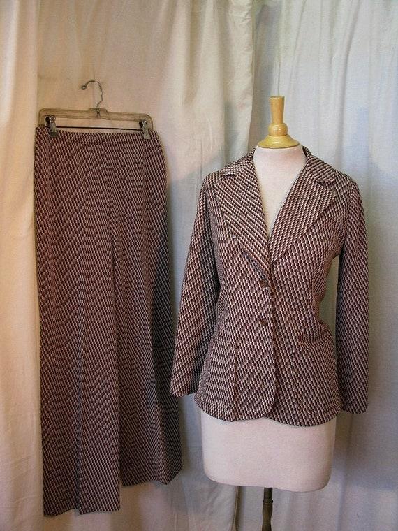 Womans 70's Pant Suit