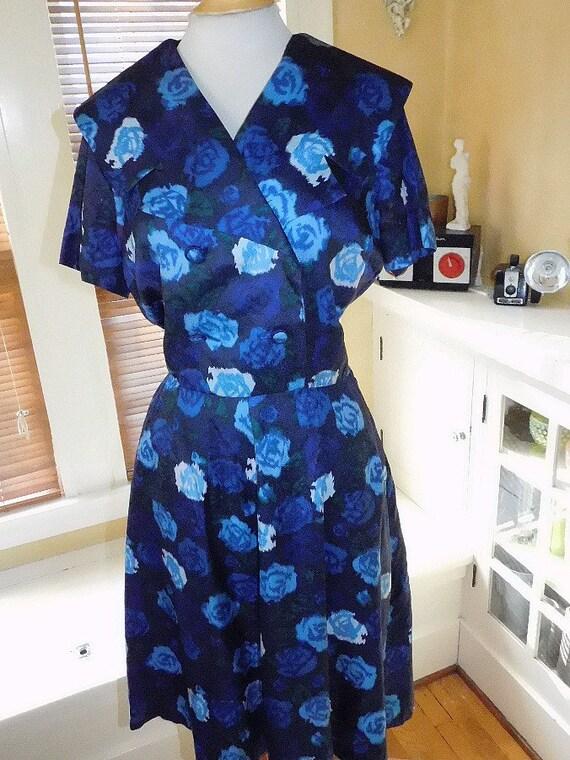 Day Dress 1950s