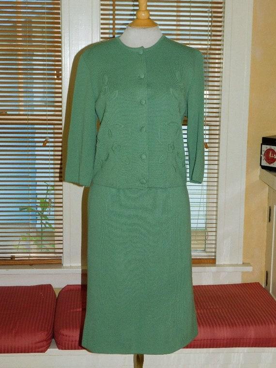 1960's Luisa Spagnoli Knit Suit