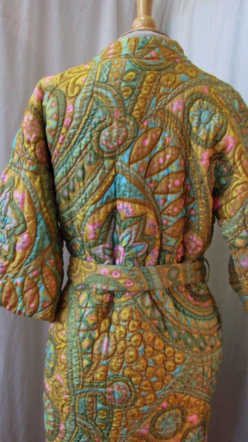 1960s I Magnin Robe