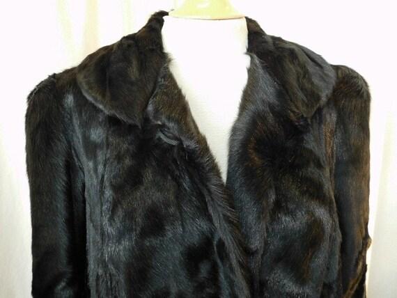 Womans Fur Coat 1930's/40's