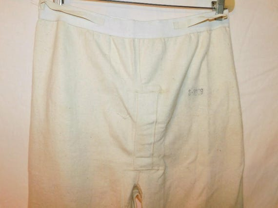 Dated 1950 Military Long Underwear - image 2