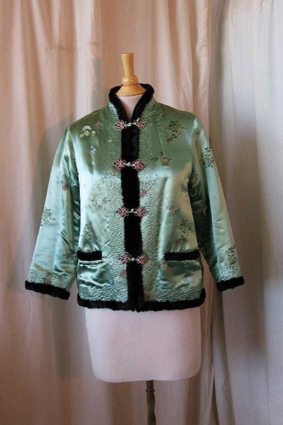 Cheongsam Satin Jacket